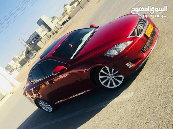 +200,000 km Lexus IS 2009 for sale