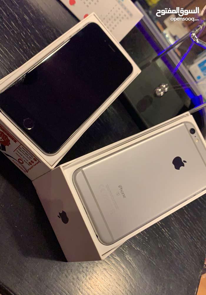 iphone 6s plus  مستعمل بحال الوكاله