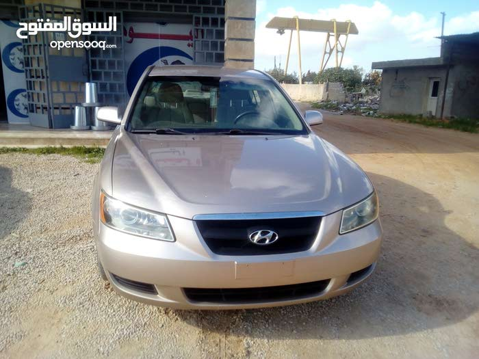 Gold Hyundai Sonata 2007 for sale