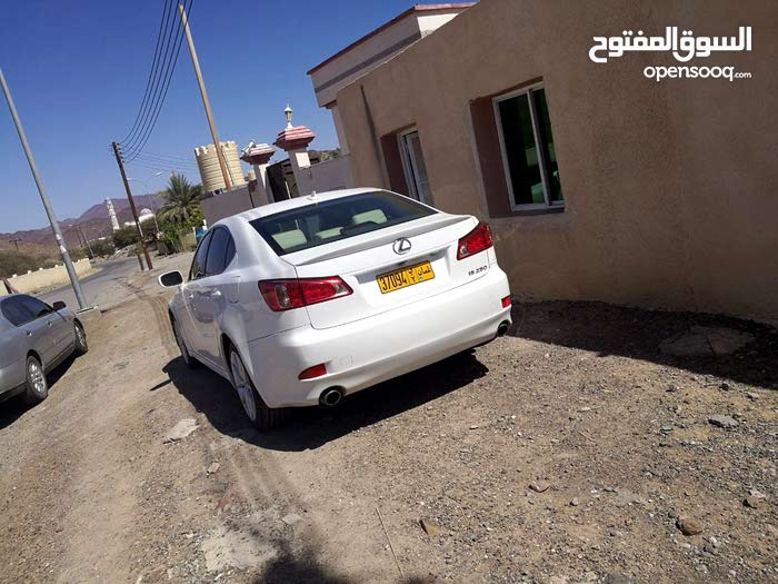 Used condition Lexus IS 2011 with +200,000 km mileage