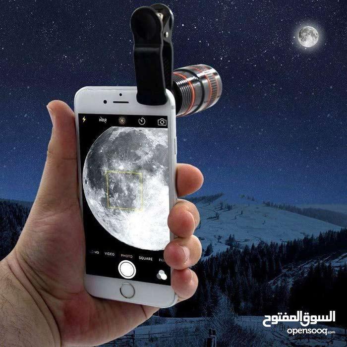 تلسكوب 12× .. 12زوم للتصوير الاحترافي