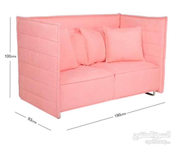 كنب هوم سنتر بنصف السعر جديد بالكرتون A brand new sofa half price