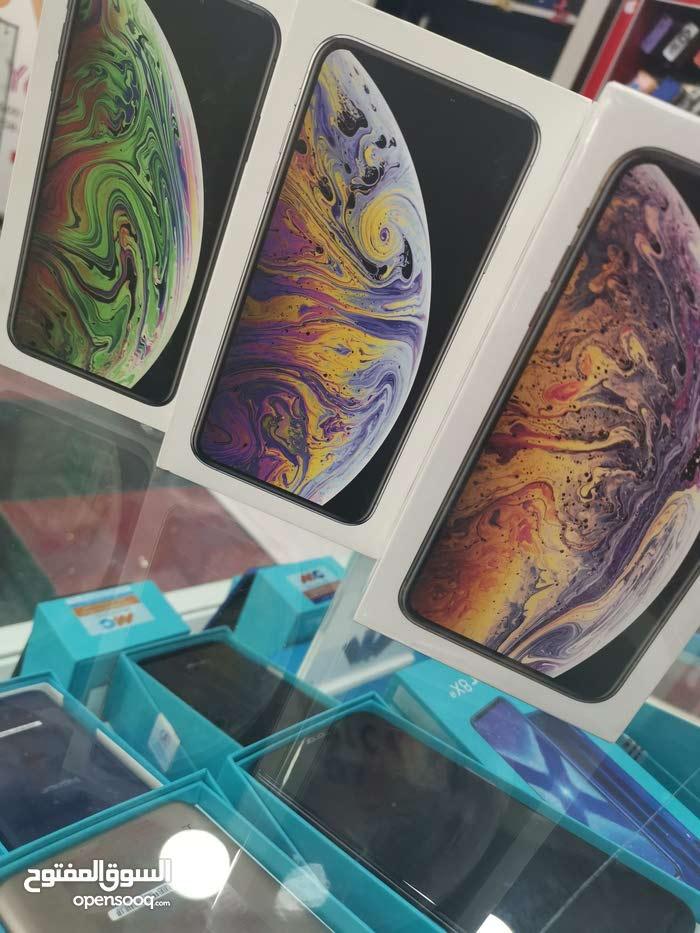 ايفون Xs Max جديد كفالة الوكيل بسعر مغررري 64 جيجا و 256 جيجا مع بكج هدايا قيم