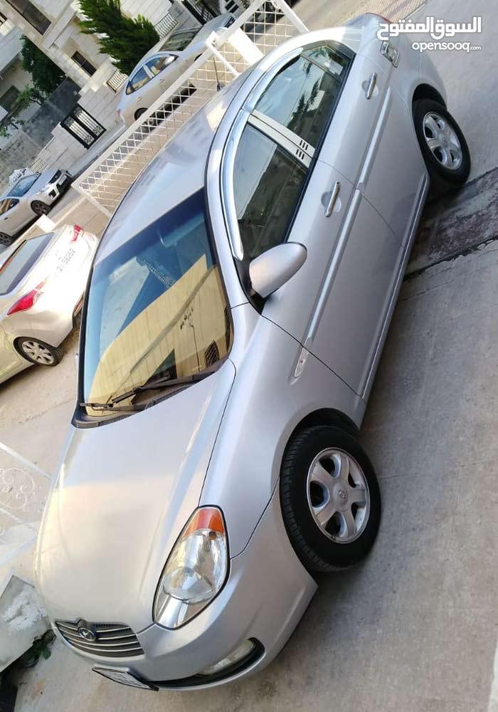 Hyundai Verna 2007 For sale - Silver color