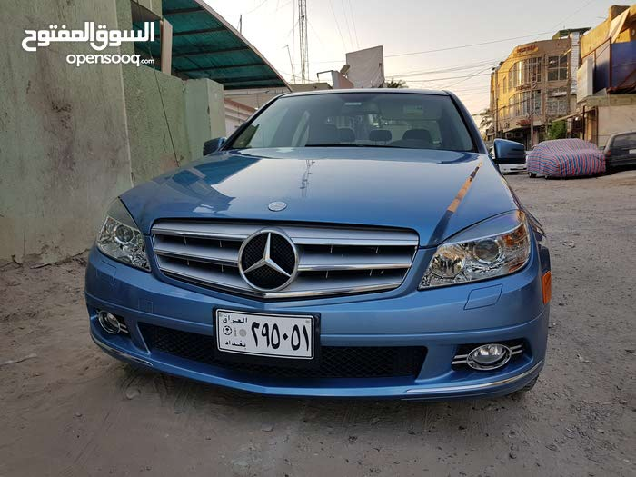 Automatic Blue Mercedes Benz 2010 for sale