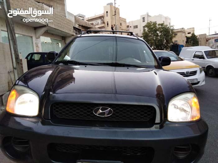 Blue Hyundai Santa Fe 2004 for sale