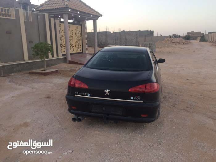 Peugeot 607 car is available for sale, the car is in Used condition