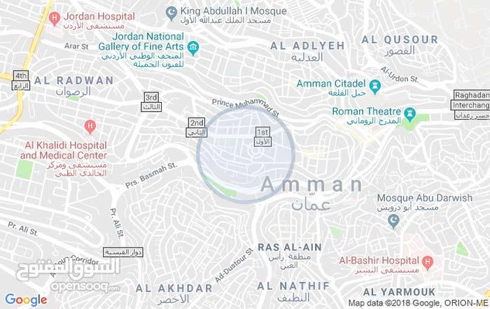 محل للايجار مجهز ليكون مطعم جبل عمان شارع البحتري