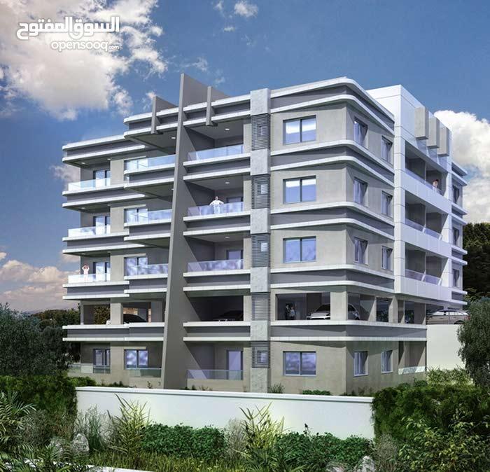قسط شقة ارضية 117 متر مع حديقة خاصة 216 متر دون فوائد