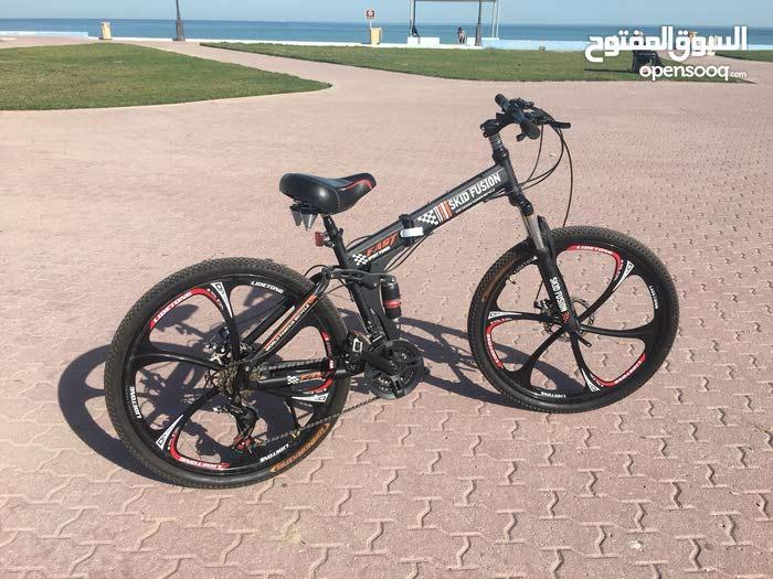 دراجة هوائية مقاس 26