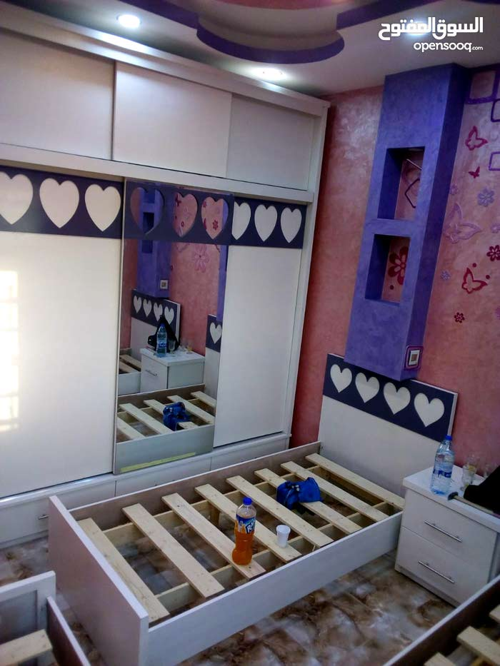 غرفة نوم بناتي تفصيل / أجود أنواع الخشب