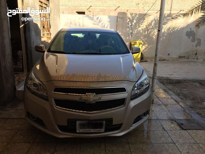 Automatic Beige Chevrolet 2013 for sale