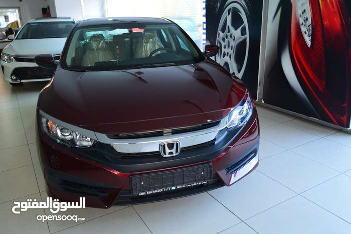 Automatic Maroon Honda 2017 for sale