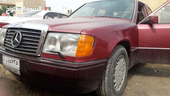 مارسيدس دب 1990 سياره جاهزه مابيها اي نقص . تحويل ثاني يوم السعر 70