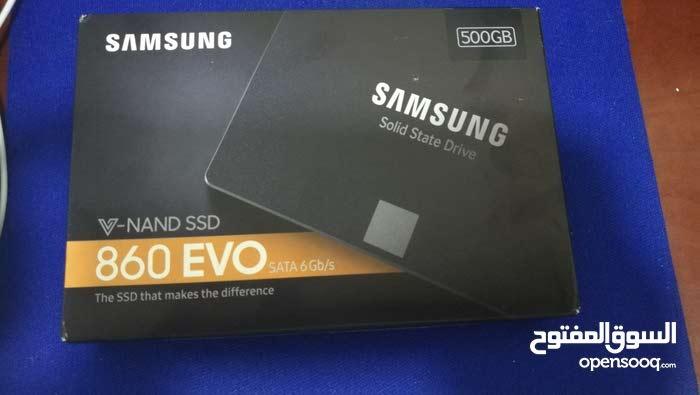 للبيع  Samsung SSD EVO 860 500 GB New جديد بالكرتون