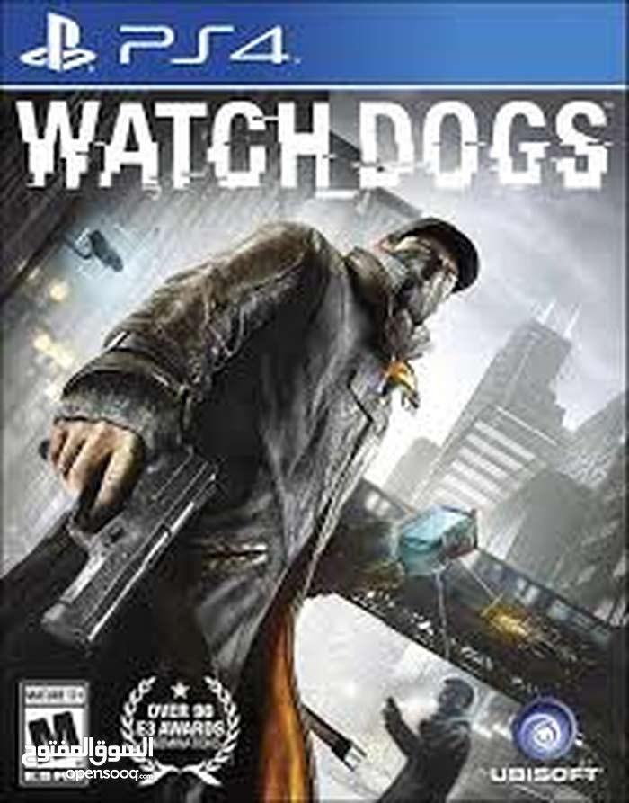 سيدي watch dogs لل playstation 4 نضيف