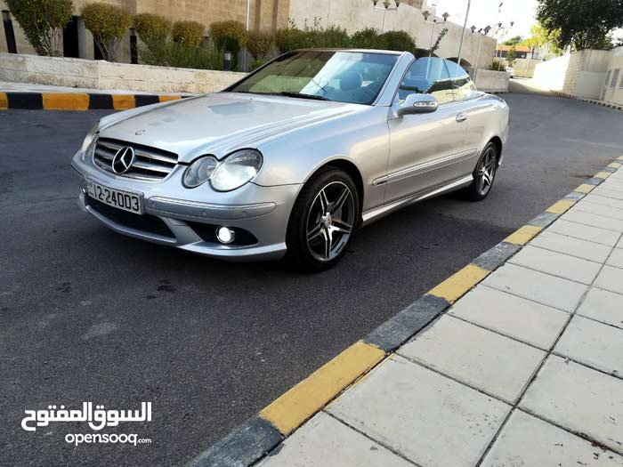 Grey Mercedes Benz CLK 200 2007 for sale