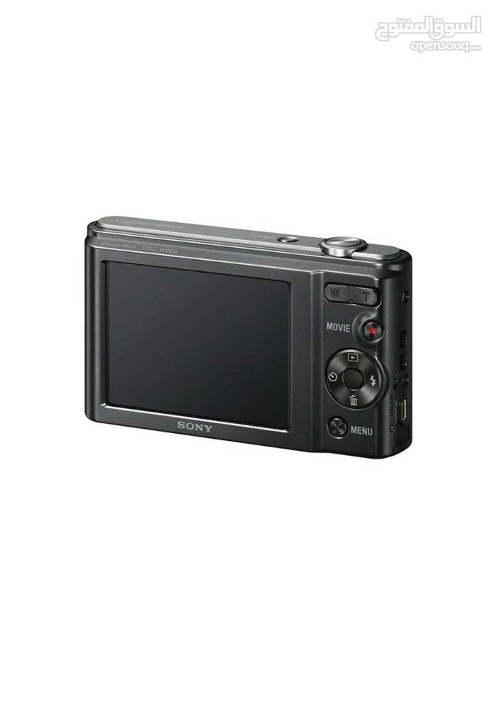 • الكاميرا الرقمية المضغوطة طراز w800 مزودة بسمات لتسهل التنظيف السريع والصور ال