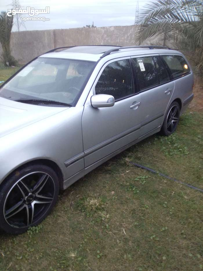Silver Mercedes Benz E 240 2002 for sale