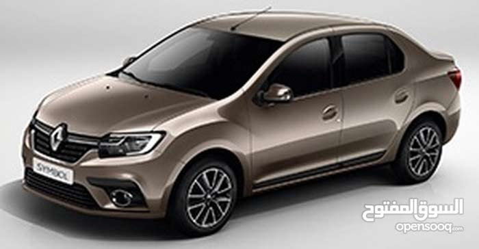 Renault Symbol car is available for a Year rent