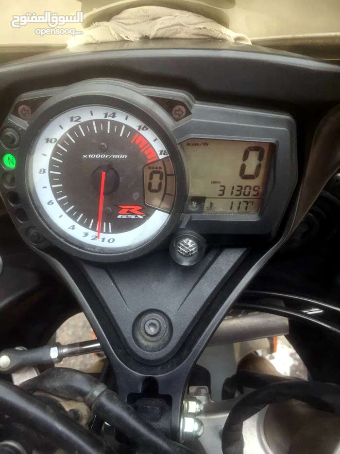 Used Suzuki motorbike up for sale in Mecca