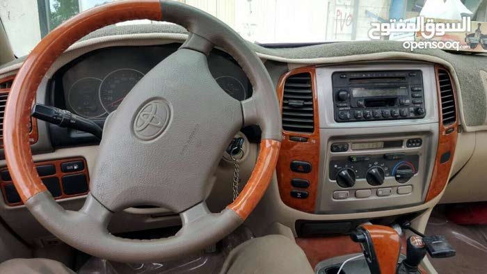 Toyota Land Cruiser 2007 For sale - Gold color
