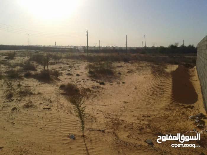 ارض 500 متر للبيع وادي الربيع / العزيب