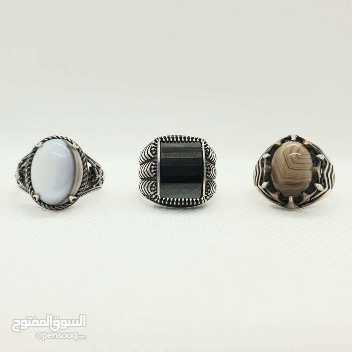 أجمل خواتم الفضة الأصلية بأسعار مميزة