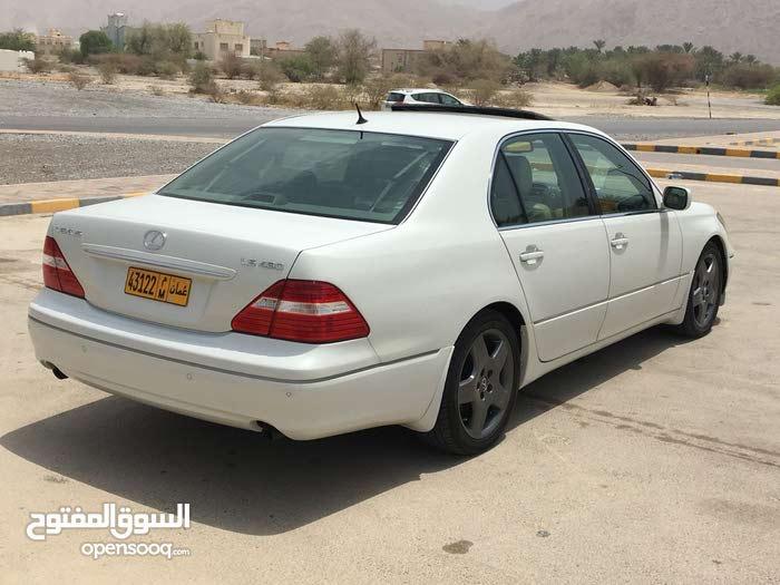 Lexus LS 2004 For sale - White color