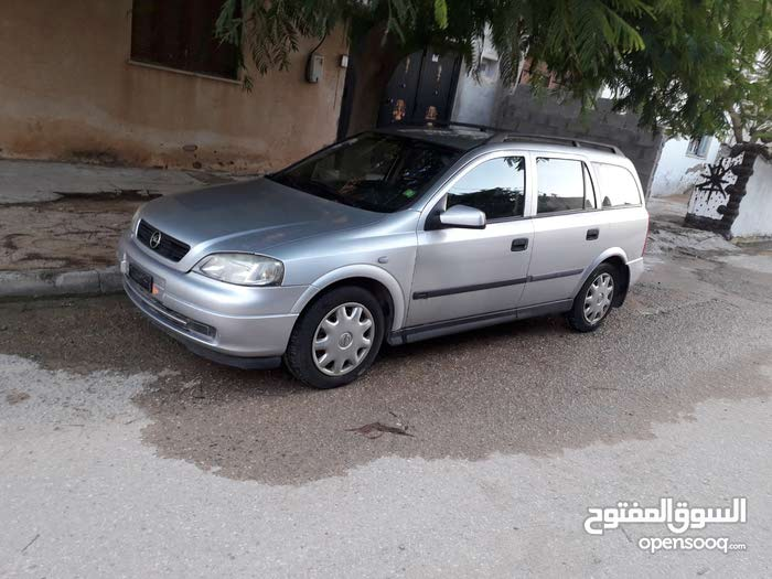 Opel Astra car for sale 2002 in Al-Khums city