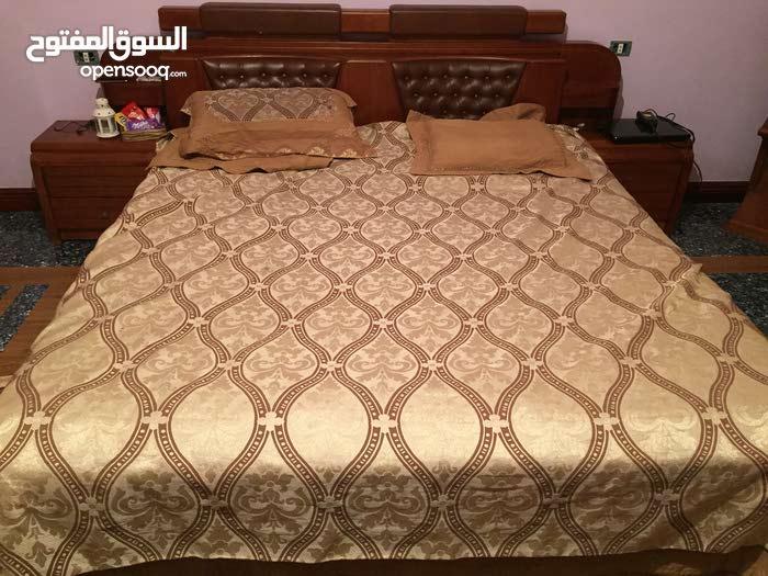 غرفة نوم مستعملة لوح اصلي وليس خشب معالج