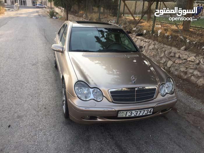 مرسيدس c200موديل 2001