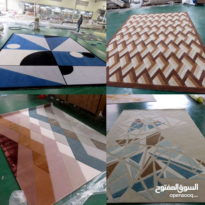 تفصيل وتصميم السجاد اليدوي ,ورق الجدران, الستائر والارضيات بانواعها