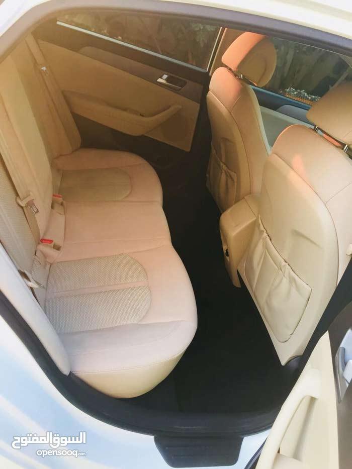 White Hyundai Sonata 2015 for sale