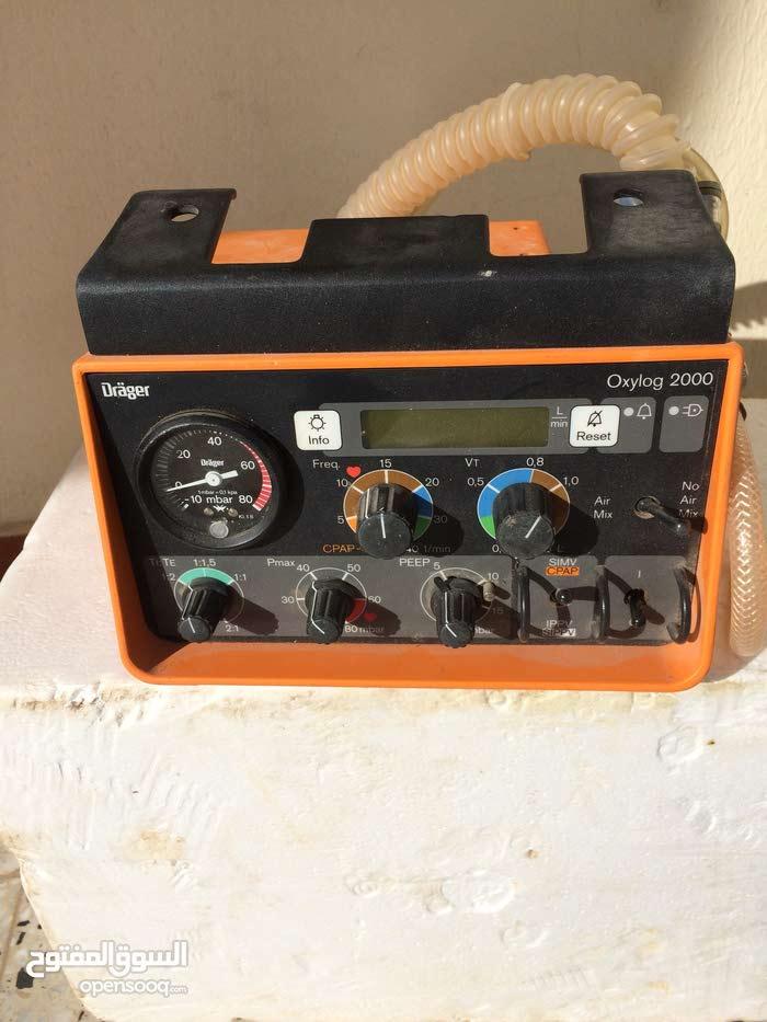 جهاز تنفس صناعي .درقر ألماني