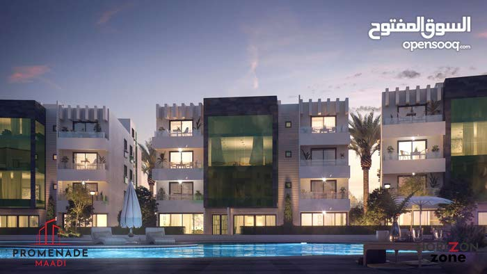 Owned an apartment in Compound in Maadi