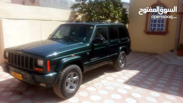 For sale 2001 Green Cherokee