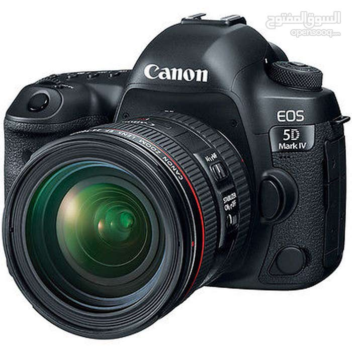 Canon EOS 5D Mark IV 30.4 MP DSLR Camera + Canon EF 24-105mm f/4L IS II USM Lens