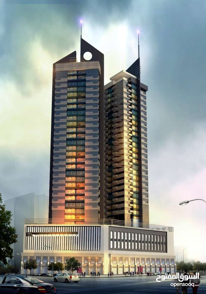تملك شقة في أحدث المشاريع برج بوخمسين 5 بأقساط مريحة