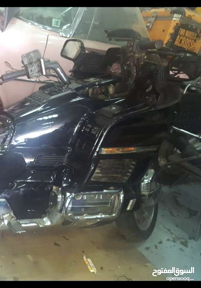 Used Honda motorbike up for sale in Dubai