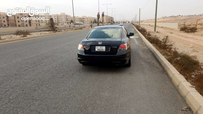Automatic Black Honda 2008 for sale
