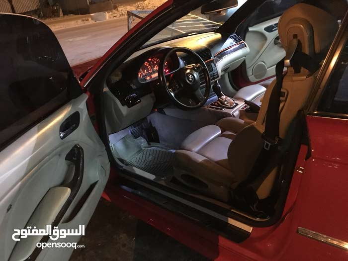 BMW M3 2002 For sale - Red color