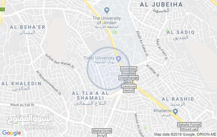 عمان / تلاع العلي مقابل مستشفى الجامعة بجاني هيئة الامم المتحدة