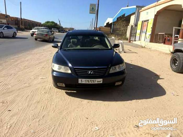 Automatic Blue Hyundai 2009 for sale
