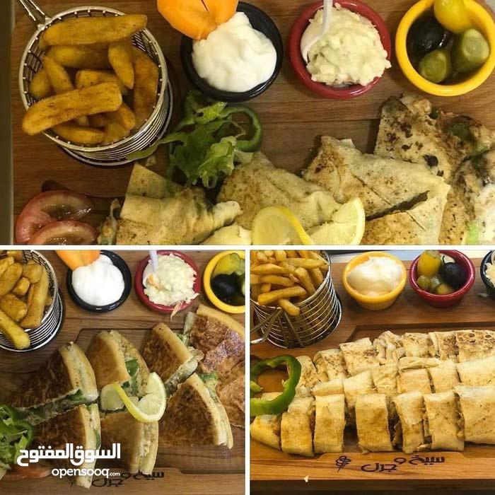 مطعم شاورما وسناكات للبيع عبدون الشمالي