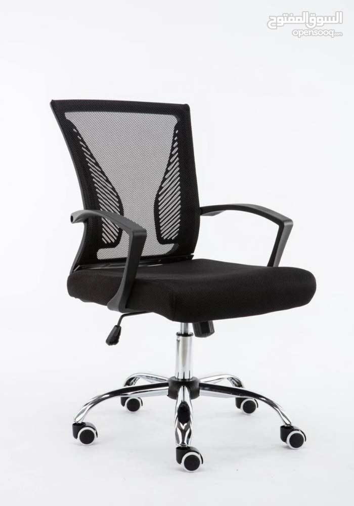 office chair black new 175 only