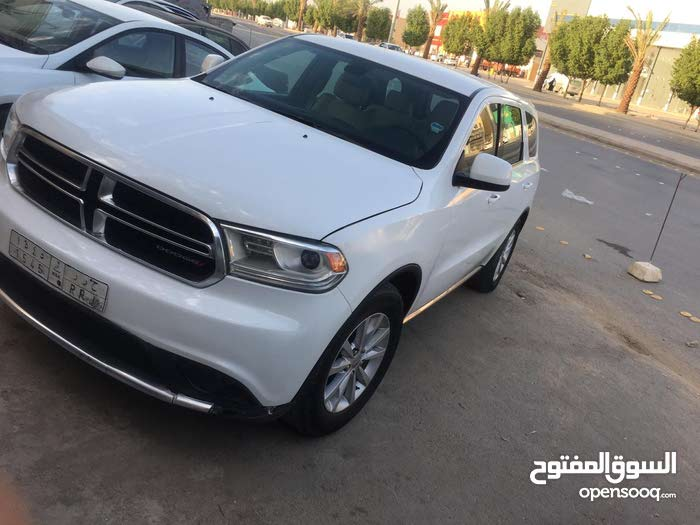White Dodge Durango 2014 for sale