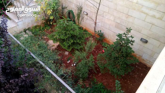 شقه شبه ارضي للبيع في عبدون 236 متر مع حديقه