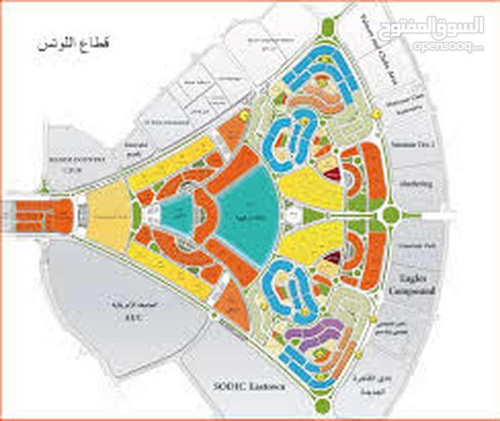 أرض للبيع , اللوتس الجديدة , التجمع الخامس , القاهرة الجديدة