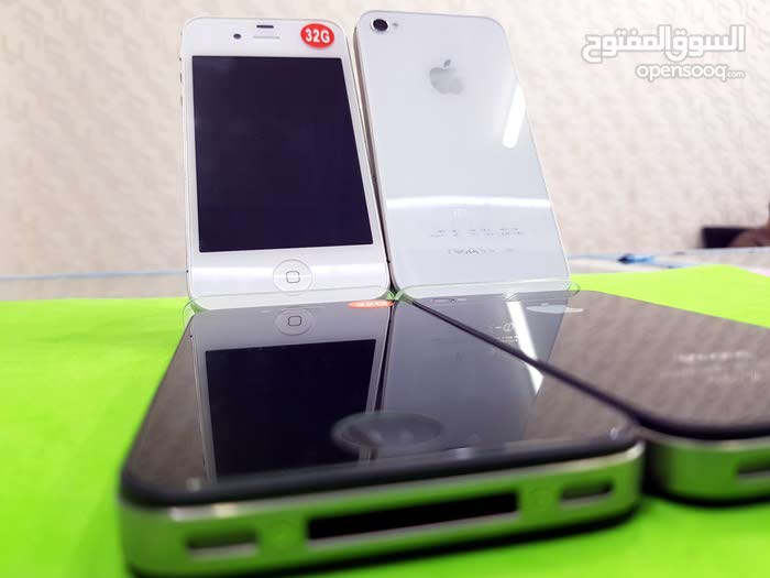 متواجد حاليا ايفون 4s ذاكرة الهاتف  32 جيبي